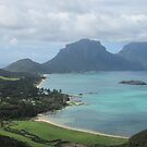 Lord Howe Island from Kim's Lookout by Robert Stephens