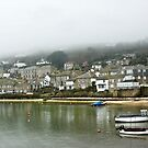 Mousehole in the Mist by Catherine Hamilton-Veal  