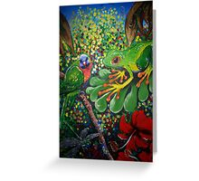 Rainforest Dreaming Greeting Card