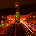 Night at Melba Tunnel by Jason Green