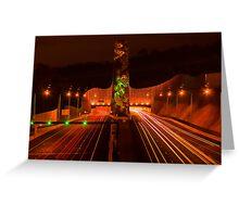 Night at Melba Tunnel Greeting Card