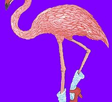 Flamingo Dancer by redqueenself