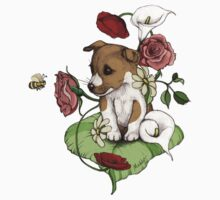 Puppy Bouquet Kids Clothes