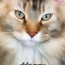 Mother's Day Card With Jasper The Cat by Moonlake