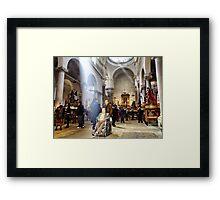 Purgatory's Church - Saint Thursday Framed Print