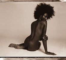 """Untitled Studio Nude, Polaroid, New York,NY"" by Brad Starks"