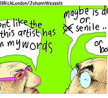 Why Cartoonists Should Abstain From Alcohol by Rick  London