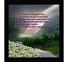 IRISH BLESSING Photographic Print