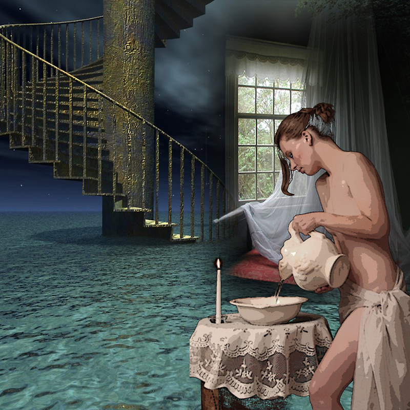 THE BATHER by Tammera