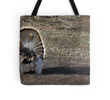 Just Me and My Shadow, Wild Turkey Style Tote Bag