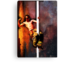 FIREFIGHTER/PARAMEDIC RYAN MALICKI Canvas Print