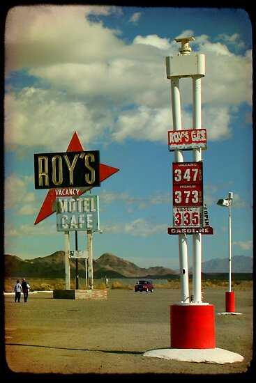 Roy's Cafe by Mark Moskvitch
