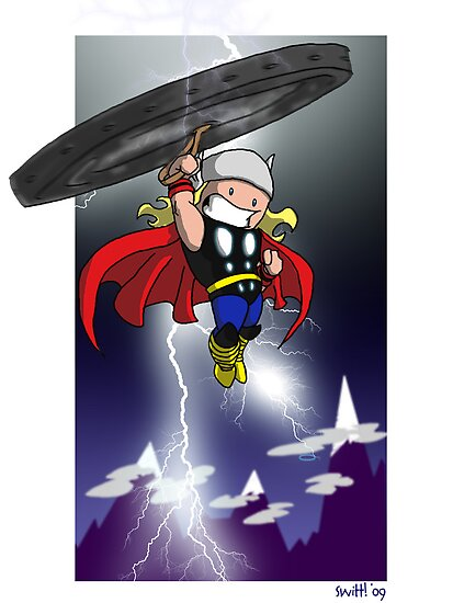 "Thor by Stephen ""Switt!""  Wittmaak"