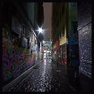 rain on Hosier Lane by shadyezz