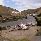 Cornwall: Boscastle Harbour by Rob Parsons