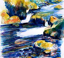 Rocks & Ripples 1a by Richard Sunderland