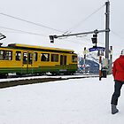 Cable train to Wengen and Lauterbrunnen by buttonpresser
