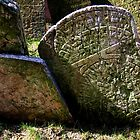 Old Jewish Cemetery (Prague) - III by Gili Orr
