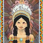 Pocahontas Birthday Card (2010) by Bridget Curry