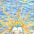 Sleeping Mermaid (2010) by Bridget Curry