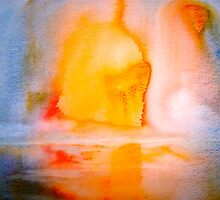 Landscape Abstract..Arctic Sun by ©Janis Zroback
