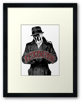 Rorschach - Retribution Red by AshyBoy