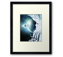 XVI - The Moon Framed Print