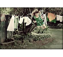 Housework is For People Who Don't Know How to Swing Photographic Print