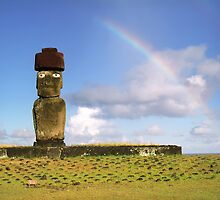 Easter island, Chile by leksele