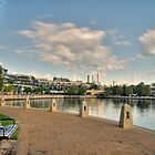 Claisebrook Walk, East Perth by HG. QualityPhotography