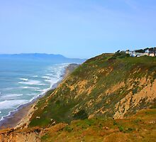 Cliff View in Daly City, California 2010 by Igor Pozdnyakov