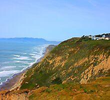 Cliff View in Daly City, California 2010 by Igor Pozdnyakov