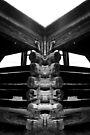 Old barn Mirrored by Kayleigh Walmsley