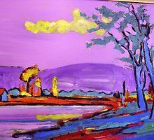Fauve Landscape 2. by Richard  Tuvey