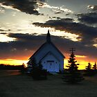 Bold Prairie Sky by Larry Trupp