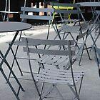 Lonely Green Chair by ElyseFradkin