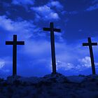 The Empty Cross of Jesus, photographed in Arizona by Rick Short