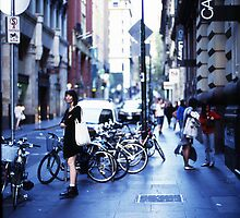 Flinders Lane Blues by Reynandi Susanto