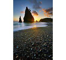 Ruby beach sunset Photographic Print