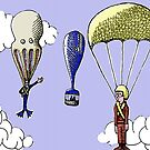 skydivers by Jerel Baker
