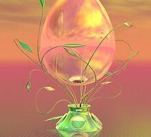Easter Egg by Sandra Bauser Digital Art