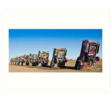 Cadillac Ranch - Print Art Print