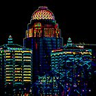 Neon CityScape by Perspective