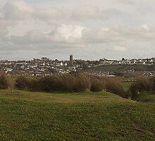 The Village Of Northam, Devon by Andrew  Bailey