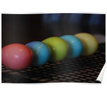 Eggs in a Row Poster