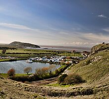Uphill Sailing Club and Marina by Alex Hardie