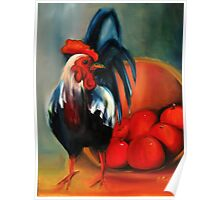 The Rooster did it Poster