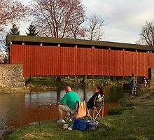 Trout Fishing in Lancaster County by Mark Van Scyoc