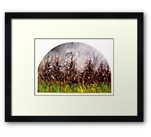 The Distance Between You and I... (panel #4) Framed Print
