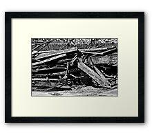 Scraps Framed Print